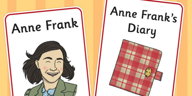 Anne Frank Display Poster - anne, frank, display poster, display