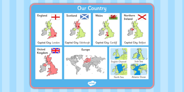 Our Country UK Word Mat - our country, uk, word mat, word, mat