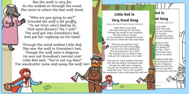 Little Red Is Very Good Song