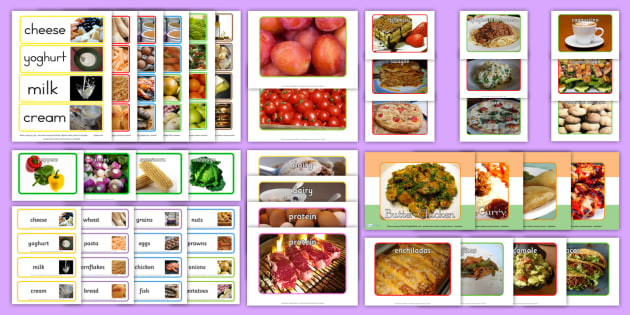 Food Pictures Resource Pack - memory, conversation, reminiscence, discussion