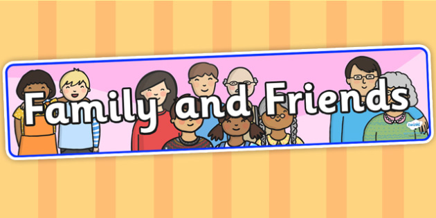 Family and Friends Display Banner - family and friends, IPC display banner, IPC, family and friends display banner, IPC display