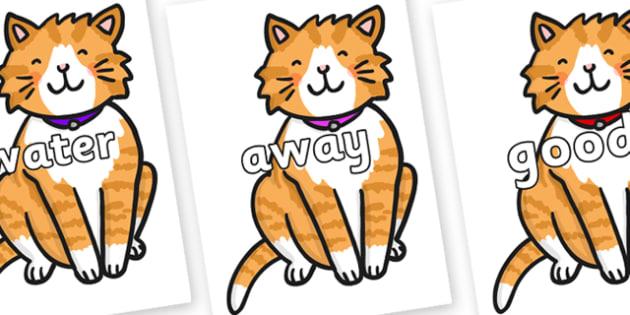 Next 200 Common Words on Cat - Next 200 Common Words on  - DfES Letters and Sounds, Letters and Sounds, Letters and sounds words, Common words, 200 common words