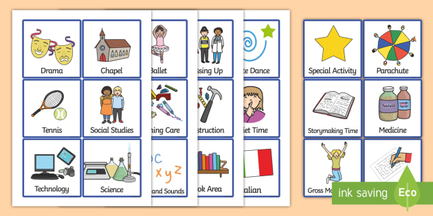 Additional Visual Timetable Cards - SEN, Visual Timetable, editable, Daily Timetable, School Day, Daily Activities, Daily Routine, Foundation Stage
