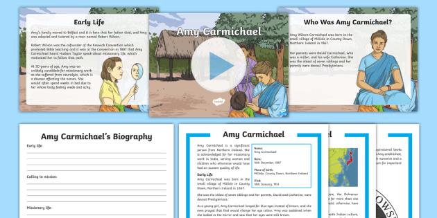 Amy Carmichael Significant People - NI - Amy Carmichael