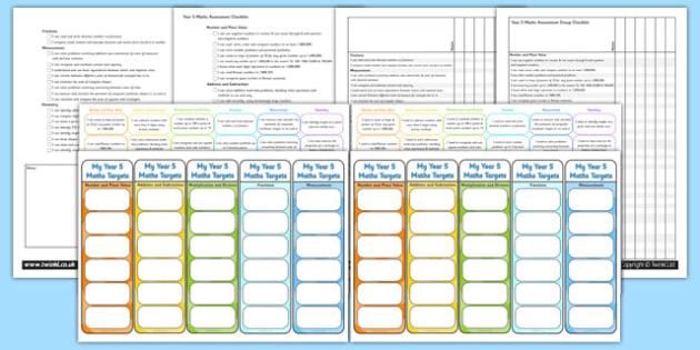 Year 5 Maths Assessment Pack - math, numeracy, assessment, assess