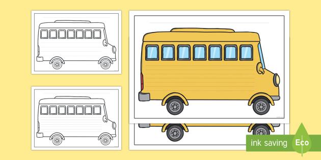 Bus Excursion Writing Frames-Australia