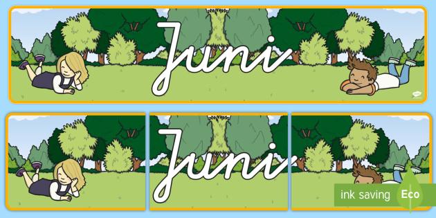 Juni Display Banner German - german, june, display banner, display, banner