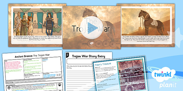 History: Ancient Greece: The Trojan War KS2 Lesson Pack 6