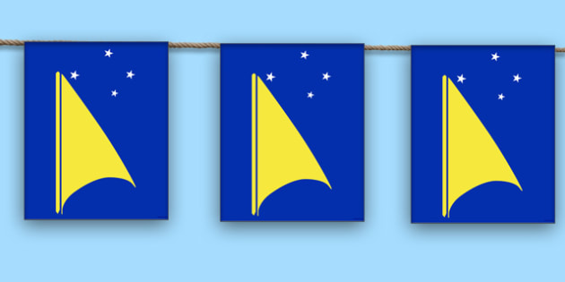 Tokelau Display Bunting
