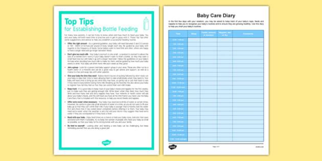 Top Tips for Establishing Bottle Feeding - Baby, feeding, newborn, bottle, milk