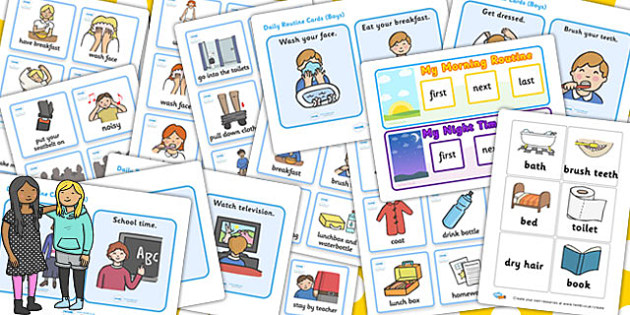 Parents Visual Timetable Resource Pack - timetable, pack, parents