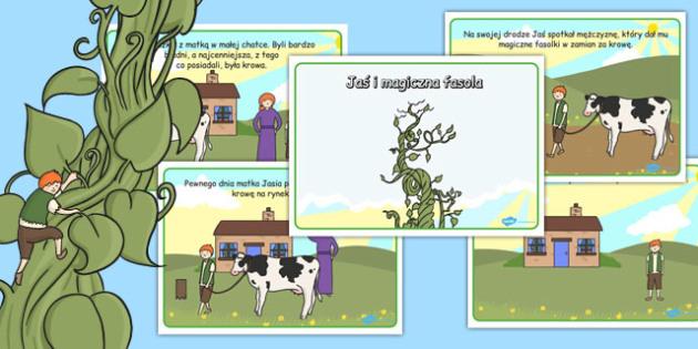 Jack and the Beanstalk Story Polish - polish, story, jack, beanstalk