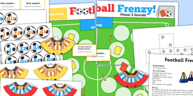 Phase 3 Sounds Football Board Game - phase three, world cup