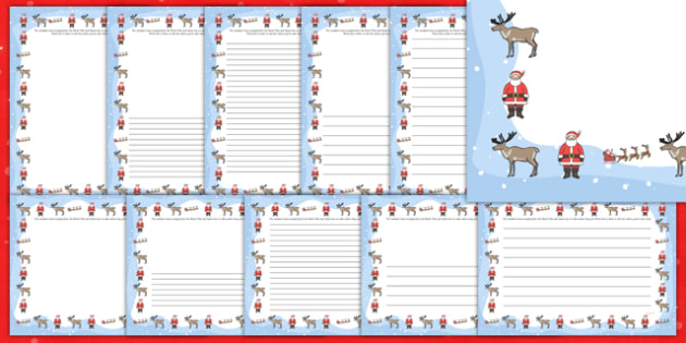 Lost Reindeer Writing Frame - lost reinder, lost, reindee, writing frame, writing, frame, christmas