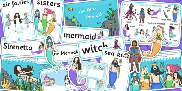 The Little Mermaid Story Sack - stories, story books, reading