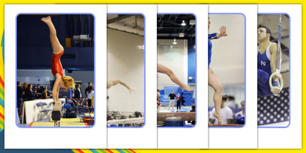 The Olympics Artistic Gymnastics Display Photos - Gymnastics, Olympics, Olympic Games, sports, Olympic, London, 2012, display, photo, photos, poster, sign, banner, activity, Olympic torch, events, flag, countries, medal, Olympic Rings, mascots, flame