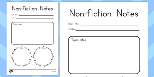 Non-Fiction Reading Notes - australia, non-fiction, reading, notes