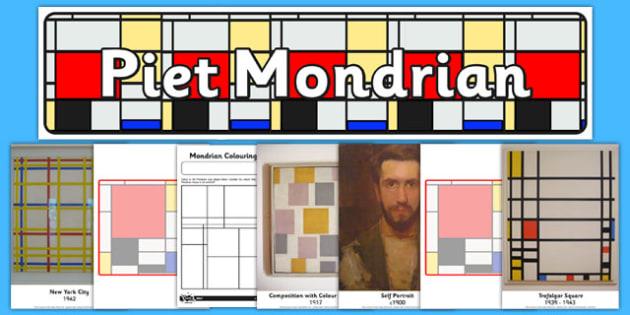 Piet Mondrian Artist Inspiration