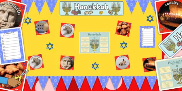 Ready Made Hanukkah Display Pack - ready made, hanukkah, display