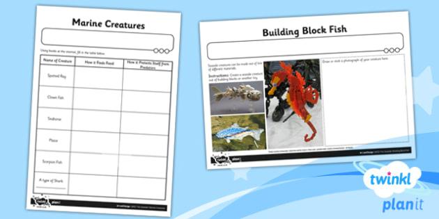 Art: The Seaside UKS2 Unit Home Learning Tasks