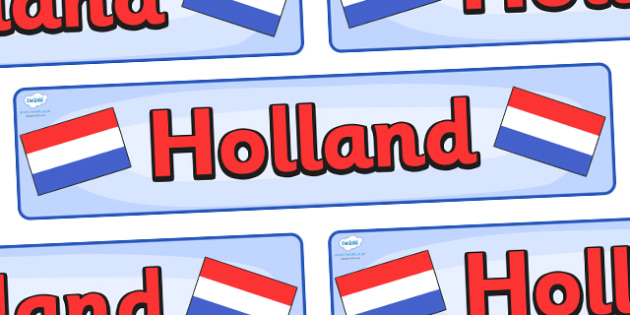 Holland Display Banner - Holland, Olympics, Olympic Games, sports, Olympic, London, 2012, display, banner, sign, poster, activity, Olympic torch, flag, countries, medal, Olympic Rings, mascots, flame, compete, events, tennis, athlete, swimming