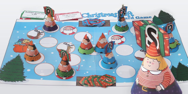 Phase 2 Sounds Christmas Board Game - Games, Activities, Activity