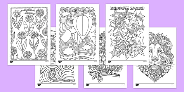 Mindfulness Colouring Resource Pack