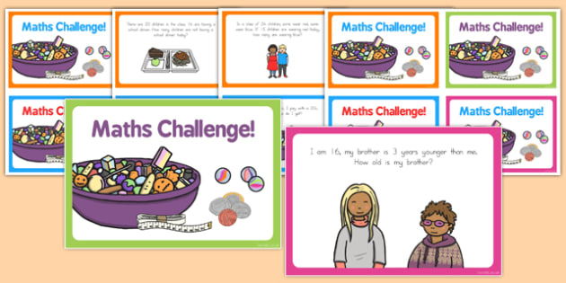 Subtraction Challenge Cards - australia, subtract, challenges, card, maths