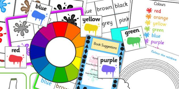 EYFS Colour Number Sack - EYFS, Colour, Discovery, Sack