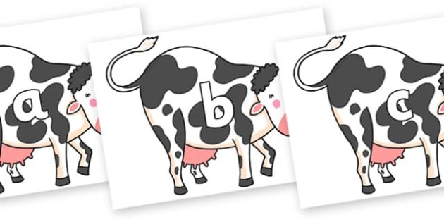Phase 2 Phonemes on Hullabaloo Cow to Support Teaching on Farmyard Hullabaloo - Phonemes, phoneme, Phase 2, Phase two, Foundation, Literacy, Letters and Sounds, DfES, display