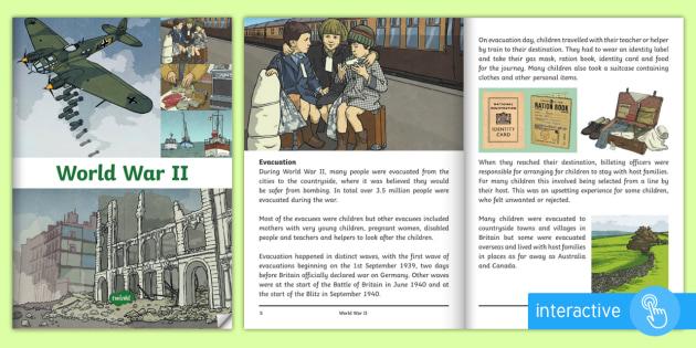 World War II eBook - World War II, second world war, winston churchill, adolf hitler, the allies, axis, air raid, battle