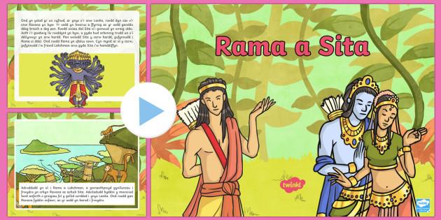 Pwerbwynt Stori Rama a Sita