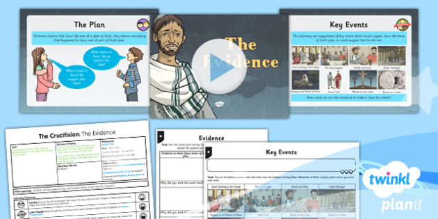 RE: Free Will and Determinism - The Crucifixion: The Evidence Year 6 Lesson Pack 4