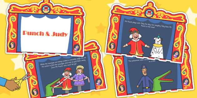Punch and Judy Story - story, punch, judy, seaside, theatre, toby