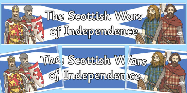The Scottish Wars of Independence Display Banner - display banner