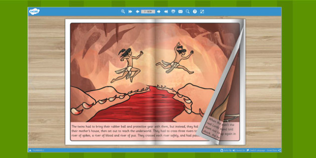 The Hero Twins eBook - myths, legends, stories, books, reading
