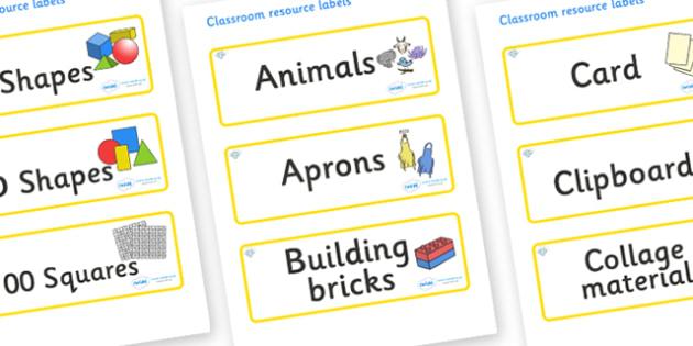 Diamond Themed Editable Classroom Resource Labels - Themed Label template, Resource Label, Name Labels, Editable Labels, Drawer Labels, KS1 Labels, Foundation Labels, Foundation Stage Labels, Teaching Labels, Resource Labels, Tray Labels, Printable l