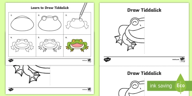 How to Draw Tiddalick the Frog Activity Sheet - Australian Aboriginal Dreamtime Stories, tiddalick the frog, drawing, worksheet, art and craft, sket