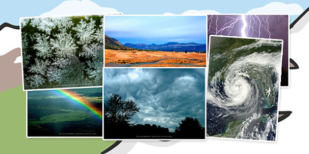 Weather Photo Clip Art Pack - Photos, Displays, Display, Visual