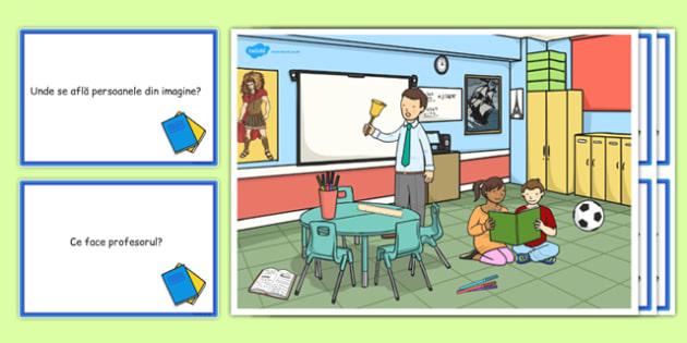 La scoala, Plansa - comunicare, dezvoltarea vorbirii