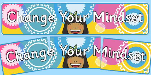 Change Your Mindset Display Banner - change your mindset, display banner, display