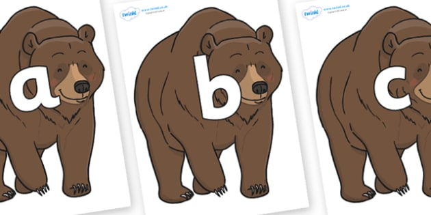 Phoneme Set on Bear - Phoneme set, phonemes, phoneme, Letters and Sounds, DfES, display, Phase 1, Phase 2, Phase 3, Phase 5, Foundation, Literacy