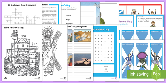 KS2 Saint Andrew's Day  Activity Pack