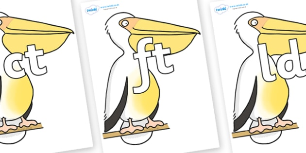 Final Letter Blends on Pelican to Support Teaching on The Great Pet Sale - Final Letters, final letter, letter blend, letter blends, consonant, consonants, digraph, trigraph, literacy, alphabet, letters, foundation stage literacy