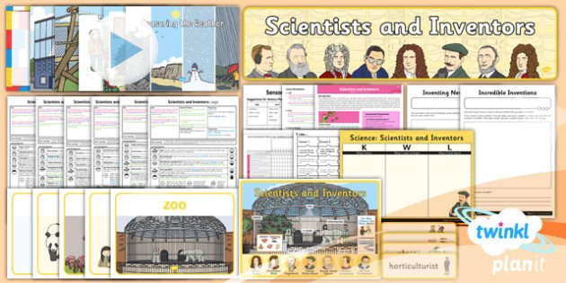 Science: Scientists and Inventors Year 1 Unit Pack
