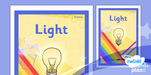 Science: Light Year 6 Unit Book Cover