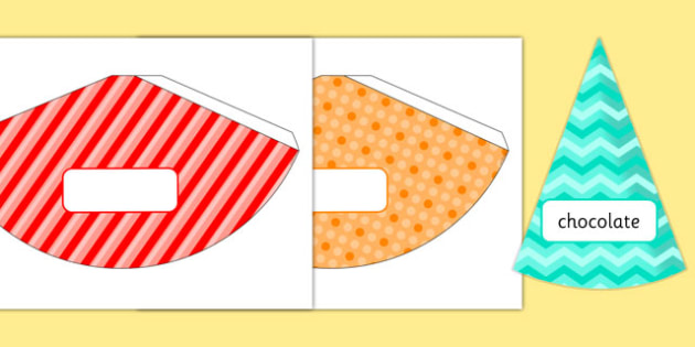 4th Birthday Party Food Cones - 4th birthday party, 4th birthday, birthday party, food cones
