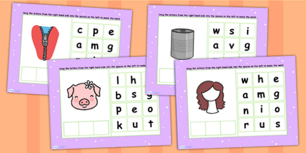 CVC Words I Spelling Flipchart - CVC words, spellings, flipchart