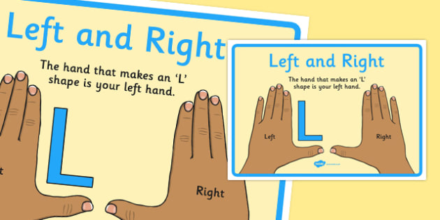 Left and Right Display Poster - left and right, display poster, display, poster, left, right