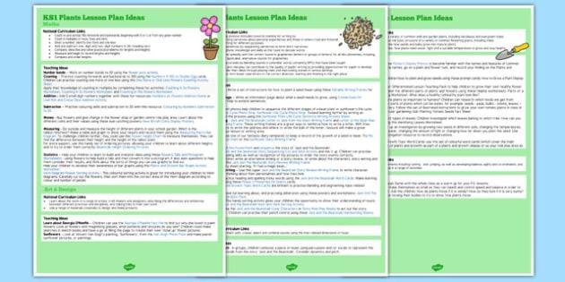 KS1 Plants Lesson Ideas - ks1, plants, lesson ideas, lesson, idea, k1